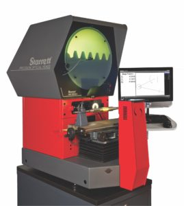 Horizontal Dual Lens Optical Comparator system