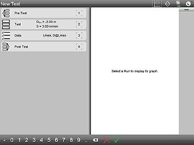 Start Screen for Load Test